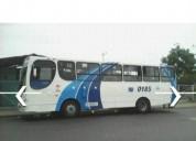 Vendo excelente bus urbano con puesto y ruat