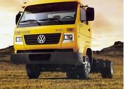 Camion volkswagen para furgon, plataforma