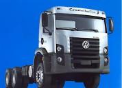 Camion volkswagen para furgon, plataforma,