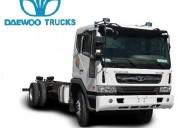 Daewoo f7, aÑo 2014, carga util 12 toneladas. contactarse.