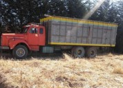 se vende camión marca scania en buen estado.