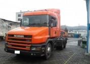 Excelente cabezal scania 124 / t360 / camion