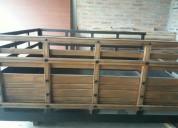 Excelente cajon de madera