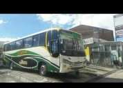 Excelente bus interprovincial vw comil 2012