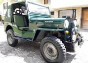 Vendo o cambio jeep willys cj3b 4x4 aÑo 54, contactarse.