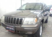 Excelente jeep grand cherokee limited, 2000, gasolina