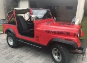 Vendo excelente jeep cj7 v8 original
