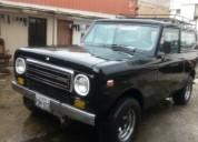 Vendo excelente jeep internacional del año 1978