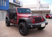 Excelente jeep wrangler unlimited sport, 2013, gasolina