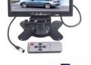 Excelente pantalla con base o empotrable a cabeceras para carro hd 7