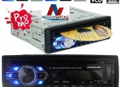 Radio para carro cd dvd usb aux bluetooh