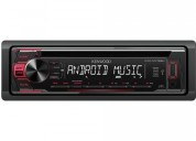radio carro auto kenwood kdcmp168u cd am/fm usb mp3 aac, contactarse.