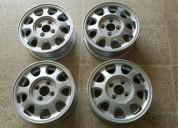 Excelente aros 13 de aluminio nissan originales