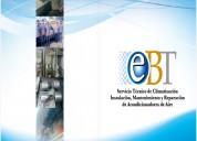 Ebt servicio técnico de climatización