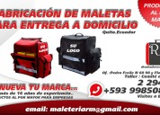 Fabricantes directos de maletas para envio a domicilio en quito