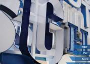 Alfa diseño letreros corporeos luminosos letras 3d