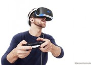 Cascos realidad virtual ultra modernos sony playstation vr
