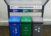 Biomundo tachos ecologicos colores clasificacion basura
