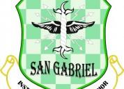 Instituto san gabriel requiere de secretaria