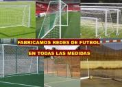 Redes para arcos de futbol a la medida de su necesidad