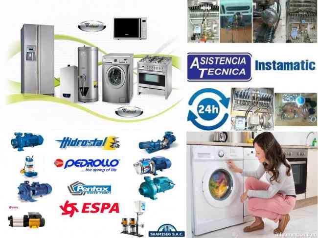 industriales REpArAciones-calefonEs -lavadoras(refrigeradora)