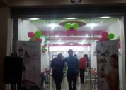 Vendemos franquicias de reconocida heladería de frozen yogurt en ecuador