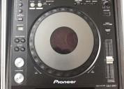 2 x pioneer cdj-850-k dj - mezclador dj 700