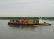 Barcazas de alquiler de  600 toneladas alquilo