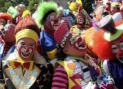 *fiestas infantiles^payasitos payasas horas locas baby shower inflables mimo mago $25 quito