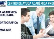 Para 3er y 4to nivel: asesoría de tesis