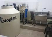 Vendo planta purificadora con osmosis inversa de oportunidad