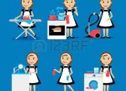 Cocineras, limpieza de casa, niñeras