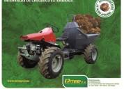Buffalo mecánico para cosecha de palma