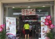 Franquicias en venta de popular heladería una gran alternativa de negocio