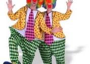 Payasitos, animacion fiestas infantiles, payasitas, mimo, mago, hora-loca, baby shower $25
