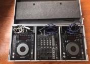 2 x pioneer cdj-850-k dj, dj mixer 700 nuevo.