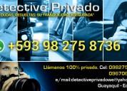 Investigador privado. w. e.