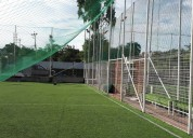 Promocion de mallas nylon para canchas de futbol