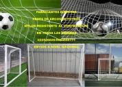 Mallas para futbol  nylon arcos cerramientos y mas....