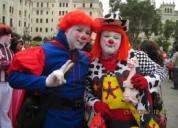 show fiestas infantiles, payasitos, mago, mimo, baby shower, $20 concursos, caritas pintadas
