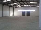 Excelente bodega nueva con oficinas sector amaguaña 726 m2