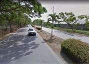 Samborondon terreno comercial-residencial 13500 m2 via ciudad celeste 13500 m2