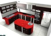 Hermosos muebles de cocina realizamos diseños en 3d solicite un asesoramiento gratuito