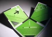 Papelería, catálogos y brochures para imagen de su empresa