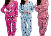 Fabricantes de pijamas en tela algodón y térmicas.