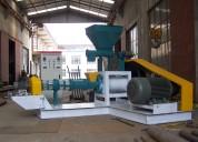 Extrusora meelko para pellets flotantes para peces 1000-1200kg/h 90kw - mked160b