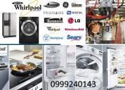 09992☆10742÷ reparacion_calefones_ lavadoras secadoras whirlpool_ rumiñahui refrigeradoras