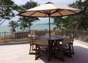 Vendo departamento con vista al mar en jama - rosana cocios 3 dormitorios 237 m2