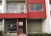 Valle de los chillos-mirasierra, casa n17 en venta 135 m2 con terraza 3 dormitorios 225 m2