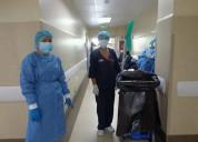 Auxiliar de limpieza hospitalaria